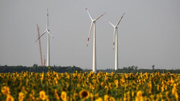 Строительство самого масштабного объекта ветроэнергетики — ВЭС общей мощностью 150 МВт в Республике Адыгее
