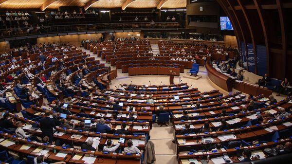 Зал заседаний Парламентской ассамблеи Совета Европы (ПАСЕ)