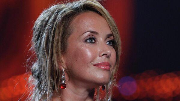 Певица Жанна Фриске на церемонии вручения Премии в области популярной музыки Муз-ТВ 2010