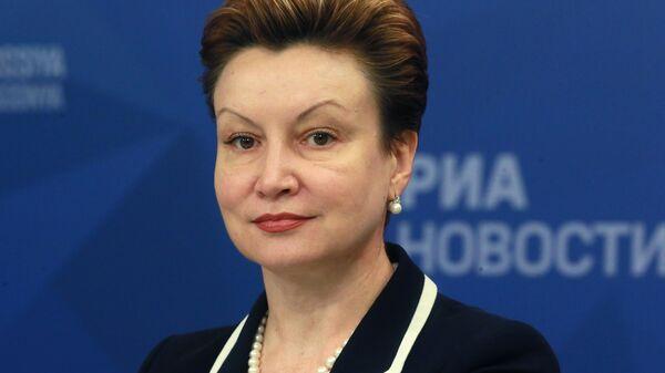 Заместитель Министра просвещения Российской Федерации Татьяна Синюгина