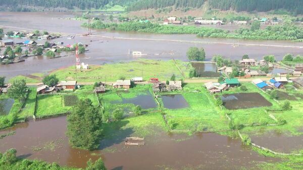 Районы Иркутской области, которые попали в зону подтопления. 29 июня 2019