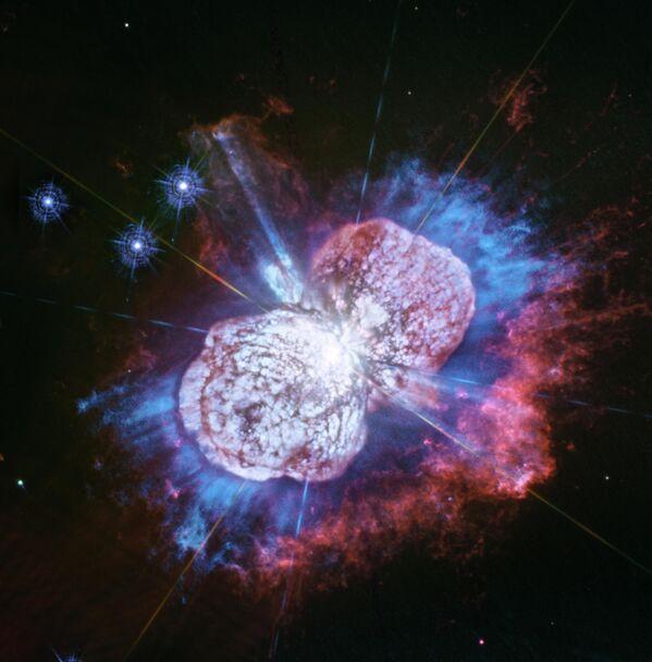 Эта Киля, крупнейшая звезда Млечного Пути и потенциальный киллер жизни на Земле