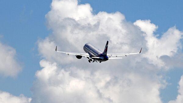 Самолет Airbus A320 авиакомпании Аэрофлот