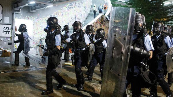 Протесты в Гонконге. Архивное фото