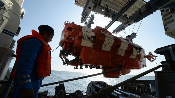 Учение подразделений аварийно-спасательной службы ВМФ России