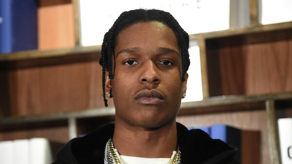 Рэпер A$AP Rocky