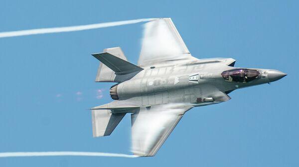 Истребитель ВВС США F-35A Lightning II