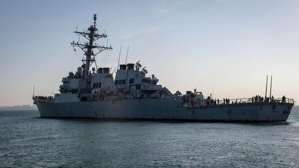 Эсминец ВМС США Карни (Carney DDG64) в порту Одессы