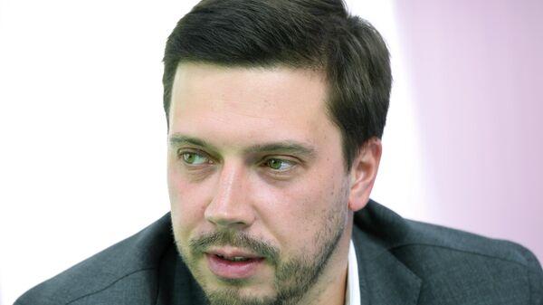 Директор Центра олимпийской подготовки, председатель молодежного совета Москомспорта Дмитрий Климов на форуме Мой район
