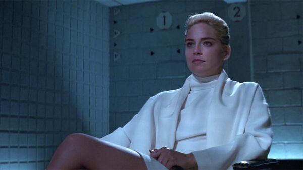 Кадр из фильма Основной инстинкт