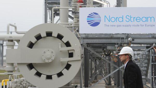 Открытие газопровода Северный поток. Архивное фото