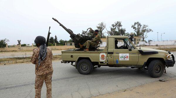 Сторонники правительства национального согласия в Триполи, Ливия