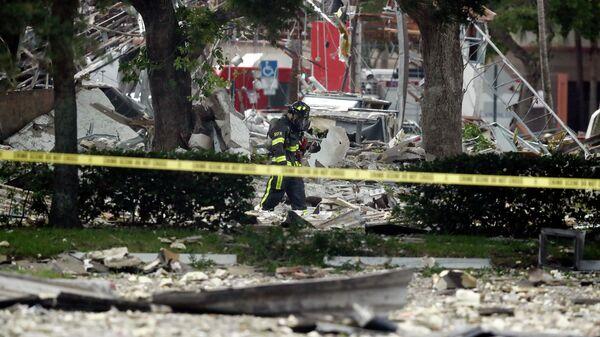 Взрыв газа в городе Плантейшн на юге Флориды. 6 июля 2019