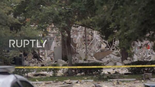 Опубликовано видео с места взрыва во Флориде