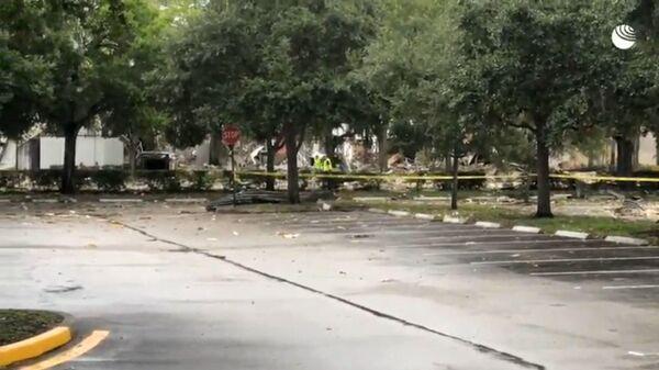 Ситуация во Флориде после взрыва возле торгового центра. Прямая трансляция