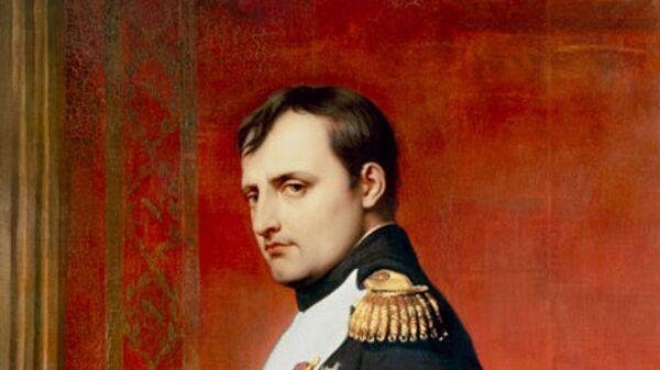 Наполеон I Бонапарт, портрет кисти Поля Делароша (1807)