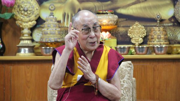 Далай-лама на Международной конференции Образование человека в 3-м тысячелетии с философами образования и педагогами в его резиденции в Дхарамсале