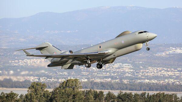 Самолет Bombardier Global Express Sentinel R.1 Королевских ВВС Великобритании