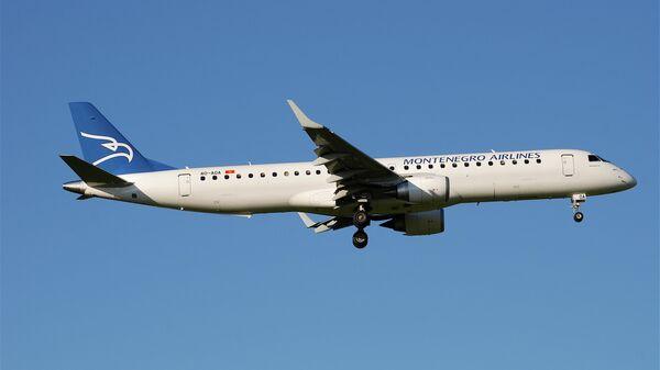 Самолет авиакомпании Montenegro Airlines