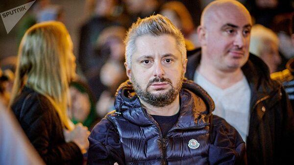 Генеральный директор грузинского телеканала Рустави-2 Николоз Гварамия