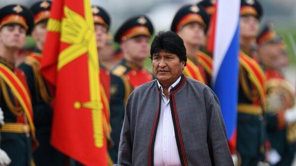 Президент Боливии Эво Моралес