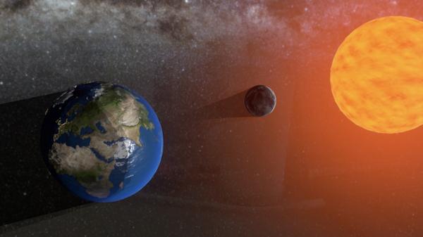 AR-проект Солнечное затмение и исчезновение Луны