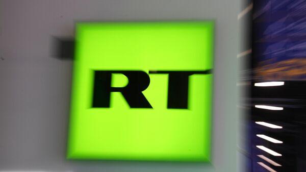 Логотип телеканала RT
