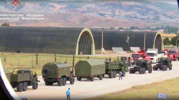 Поставка первой партии имущества из состава зенитной ракетной системы С-400 в Турцию