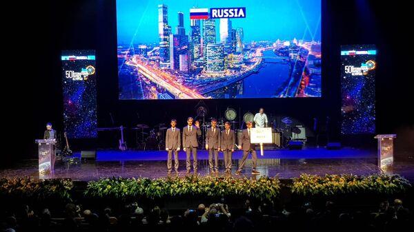 Сборная России на 50-й Международной физической олимпиаде для школьников в Тель-Авиве, Израиль