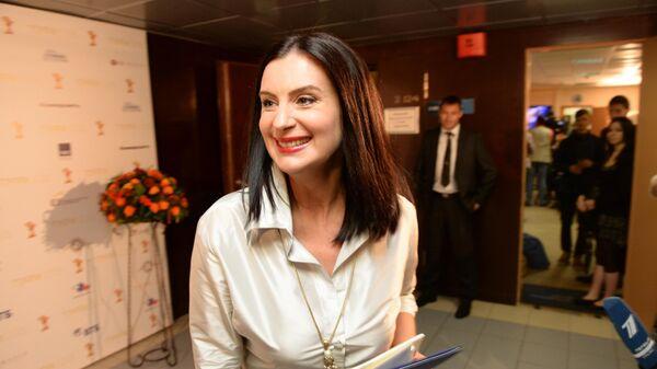 Актриса и телеведущая Екатерина Стриженова