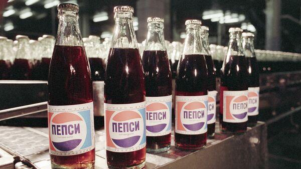 Пепси-кола - готовая продукция Московского пивобезалкогольного комбината