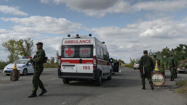 Обмен военнопленными между ДНР, ЛНР и Украиной в Луганской области
