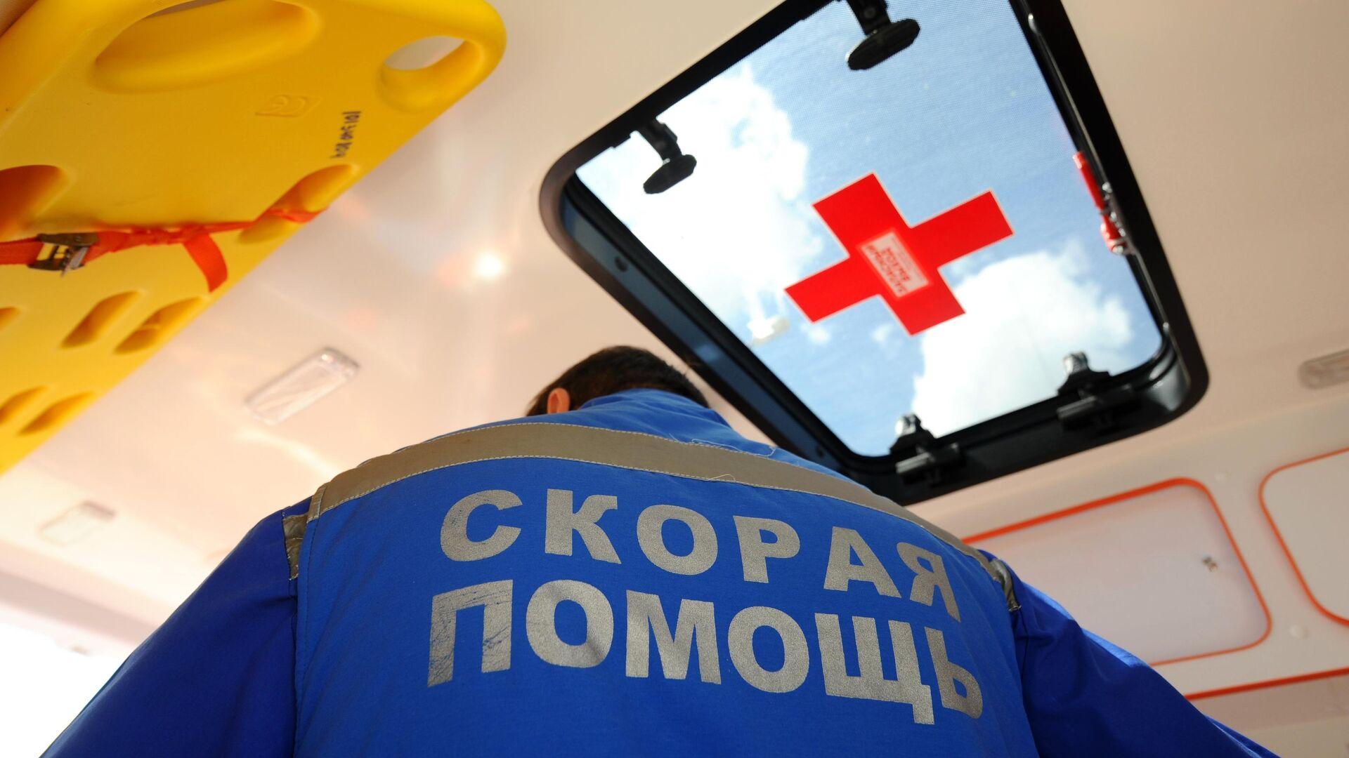 В Ростове-на-Дону автобус столкнулся с эвакуатором