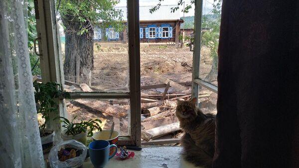 Последствия паводка в Нижнеудинском районе Иркутской области