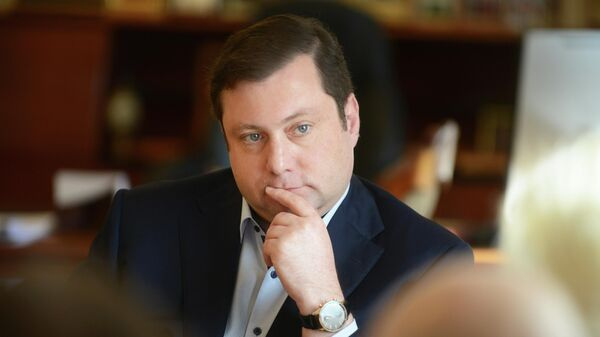 Губернатор Смоленской области Алексей Островский