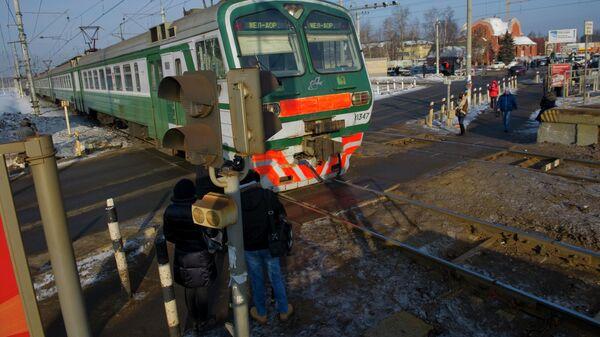 Переход и переезд через железнодорожные пути