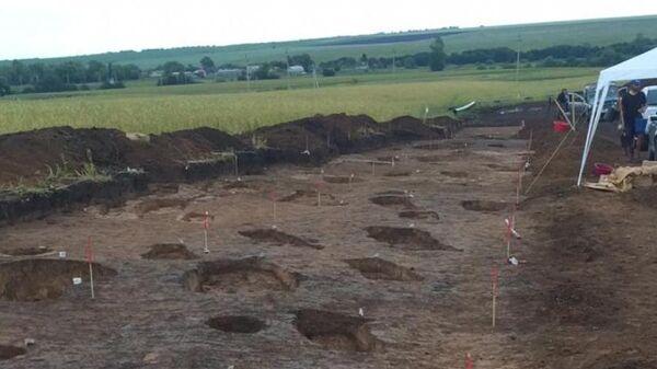 Древнее захоронение со множеством человеческих останков в Аксубаевском районе Татарстана
