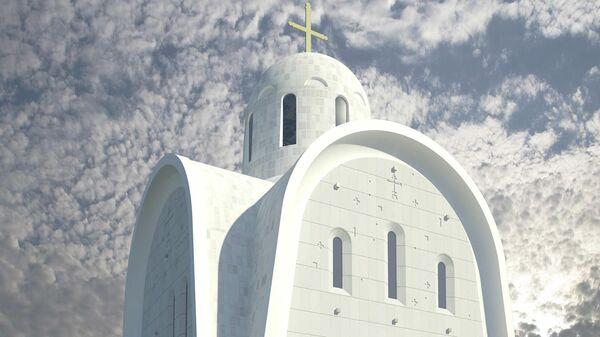 Проект храма священномученика Игнатия Богоносца на Верейской улице в Москве