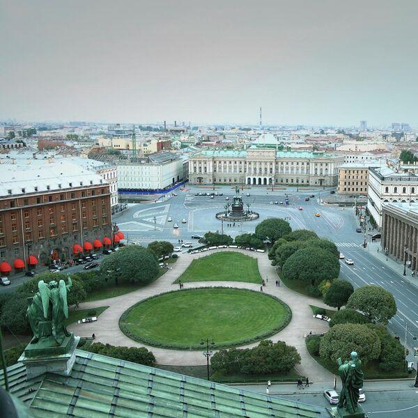 Фото Санкт-Петербурга, опубликованное на сайте Greenpeace России