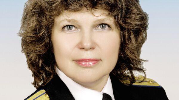 Начальник Президентского оркестра Службы коменданта Московского Кремля Вера Крылова