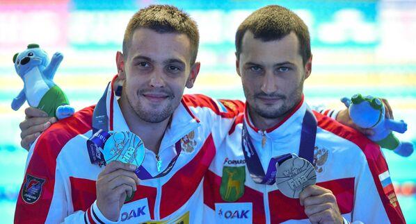 Чемпионат мира FINA 2019. Синхронные прыжки в воду. Мужчины. Вышка 10 м