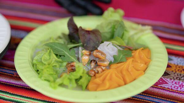 Блюдо перуанской кухни