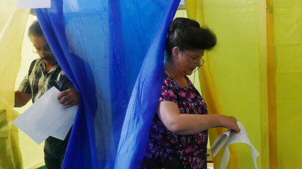 Избиратели на досрочных выборах в Верховную раду Украины. 21 июля 2019