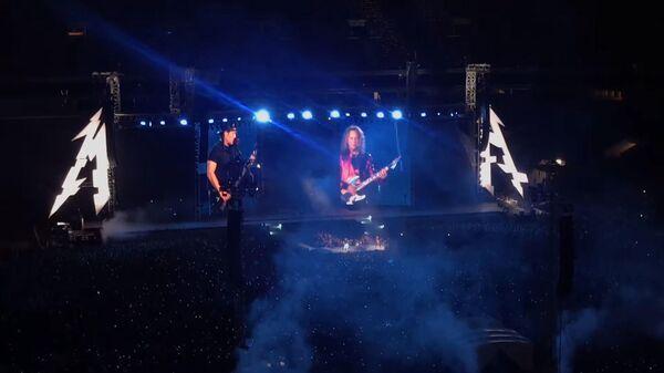 Metallica исполнила Группу крови на концерте в Лужниках