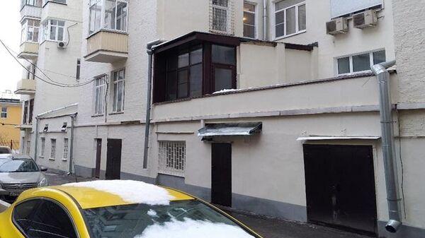 Самовольная пристройка к дому Ладовского на Тверской улице в Москве