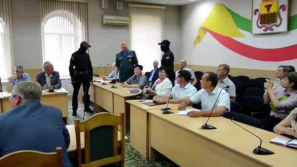 Задержание сотрудника МЧС в Чите
