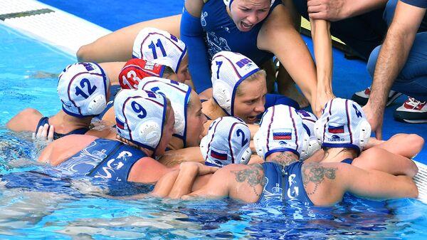 Игроки сборной России по водному поло