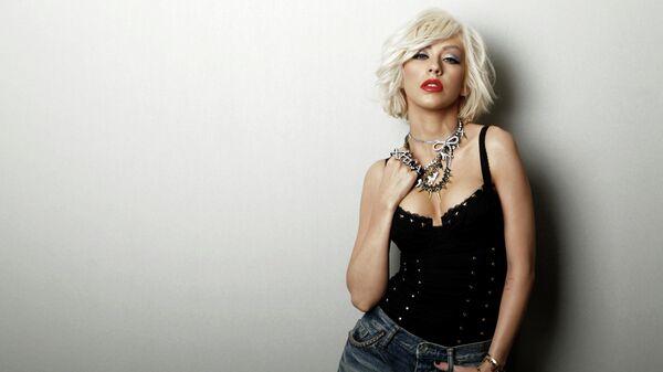 Певица Кристина Агилера. 14 апреля 2010 года