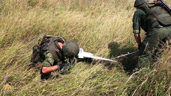 Народная милиция ЛНР сбила ударный беспилотный летательный аппарат украинских силовиков