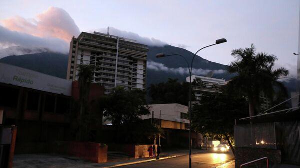 Отключение электроэнергии в Каракасе. 22 июля 2019